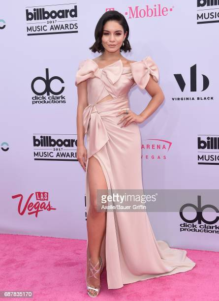 Actress/singer Vanessa Hudgens arrives at the 2017 Billboard Music Awards at TMobile Arena on May 21 2017 in Las Vegas Nevada