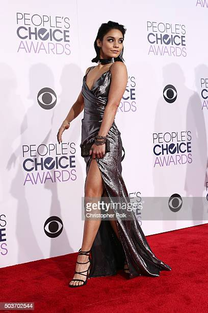 Actress/singer Vanessa Hudgens attends the People's Choice Awards 2016 at Microsoft Theater on January 6 2016 in Los Angeles California