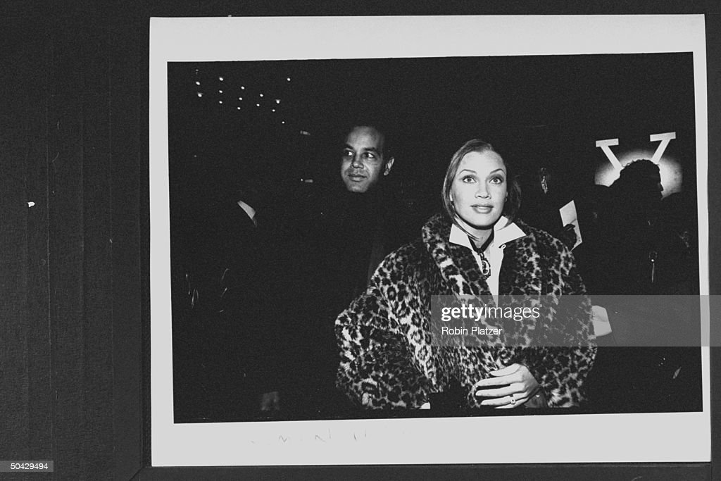 Ramon Hervey [& Wife];Vanessa L. Williams : News Photo