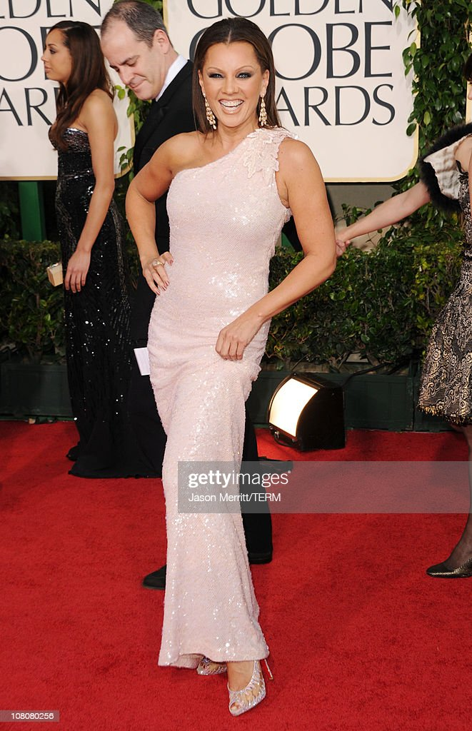 Actress/singer Vanessa Williams arrives at the 68th Annual Golden Globe Awards held at The Beverly Hilton hotel on January 16, 2011 in Beverly Hills, California.