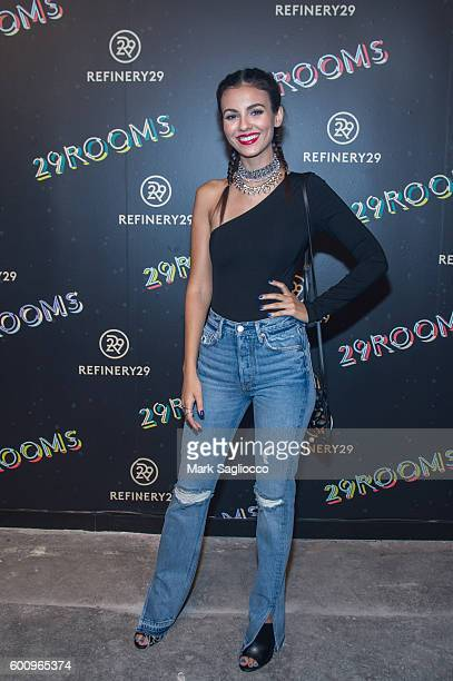 Actress/Singer Victoria Justice attends the 2nd Annual Refinery29 29Rooms Powered By People on September 8 2016 in New York City