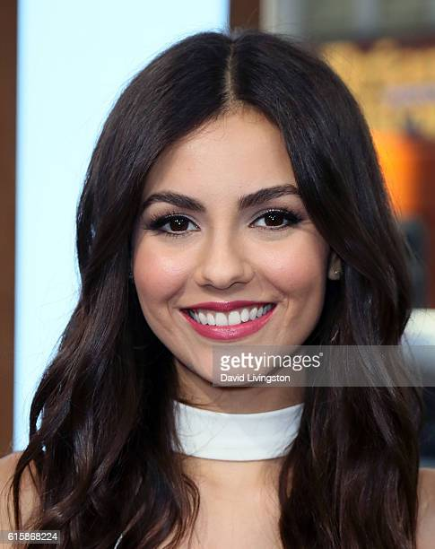 Actress/singer Victoria Justice visits Hollywood Today Live at W Hollywood on October 20 2016 in Hollywood California