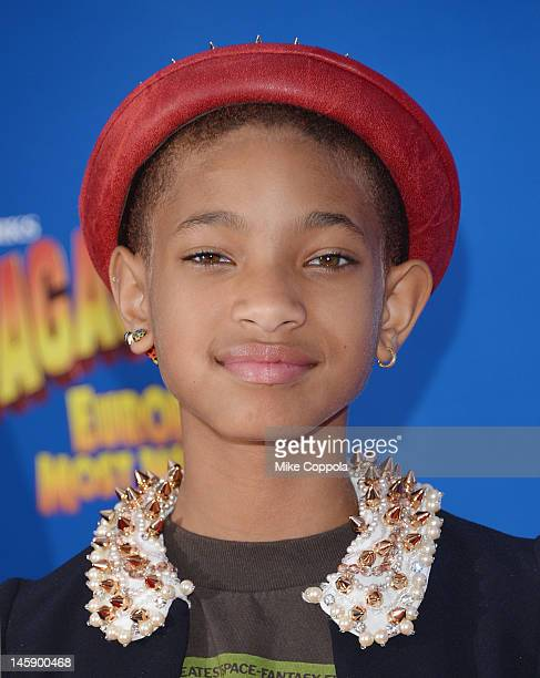 Actress/singer Willow Smith attends the Madagascar 3 Europe's Most Wanted New York Premier at Ziegfeld Theatre on June 7 2012 in New York City