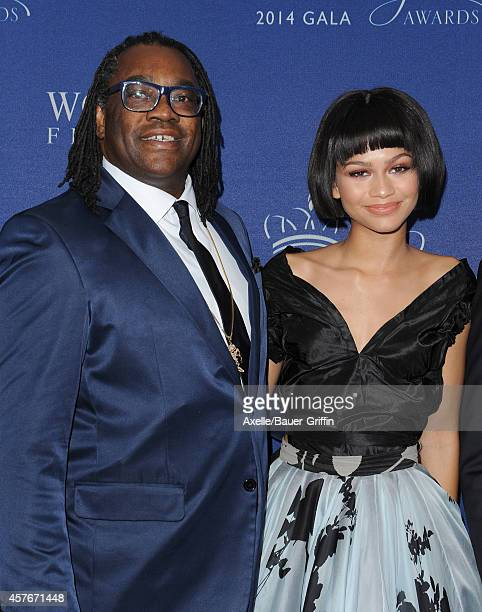 Actress/singer Zendaya and her father Kazembe Ajamu Coleman attend the 2014 Princess Grace Awards Gala at the Beverly Wilshire Four Seasons Hotel on...