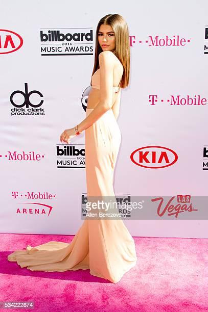 Actress/singer Zendaya arrives at the 2016 Billboard Music Awards at TMobile Arena on May 22 2016 in Las Vegas Nevada