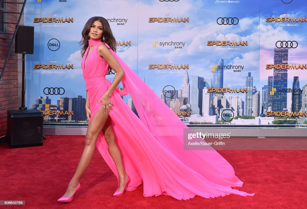 Premiere Of Columbia Pictures' 'Spider-Man: Homecoming' - Arrivals : News Photo