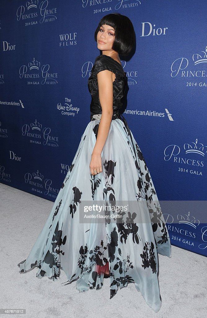 Actress/singer Zendaya attends the 2014 Princess Grace Awards Gala at the Beverly Wilshire Four Seasons Hotel on October 8, 2014 in Beverly Hills, California.