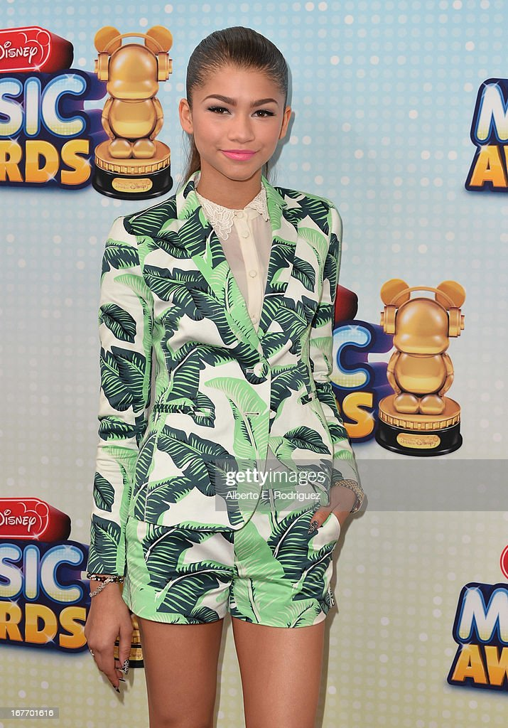 Actress/singer Zendaya Coleman arrives to the 2013 Radio Disney Music Awards at Nokia Theatre L.A. Live on April 27, 2013 in Los Angeles, California.
