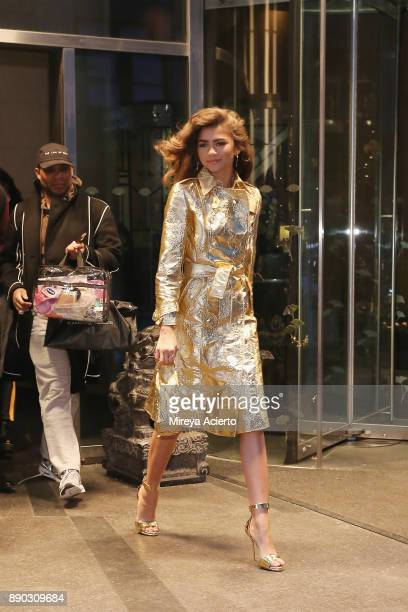 Actress/singer Zendaya seen on December 11 2017 in New York City
