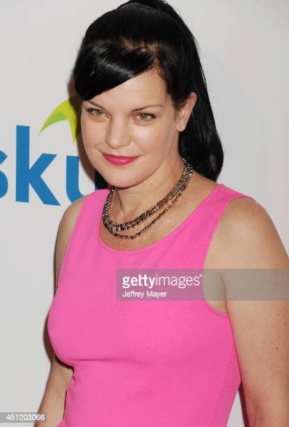 Actress/singer/songwriter Pauley Perrette attends the 5th Annual Thirst Gala hosted by Jennifer Garner in partnership with Skyo and Relativity's...