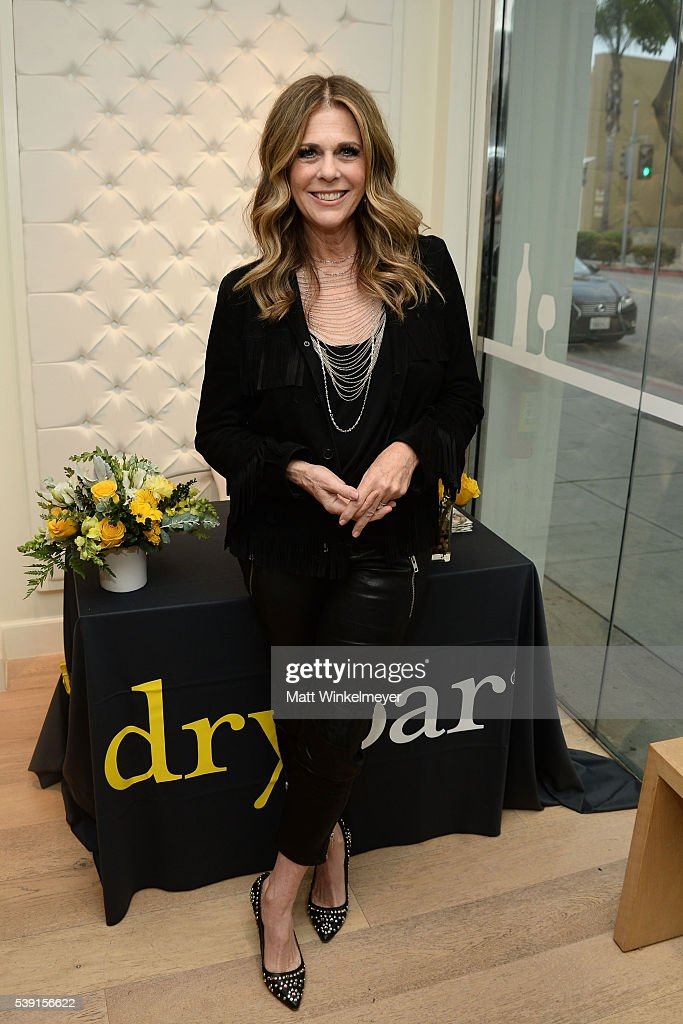 Actress/singer-songwriter Rita Wilson attends Beyond Blowouts! Drybar hosts Exclusive Listening Party for Rita Wilson's new album at Drybar on June 9, 2016 in Beverly Hills, California.