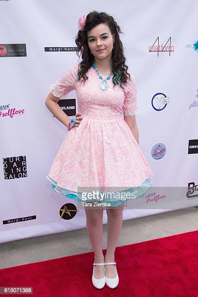 Actress/social influencer Merit Leighton attends Breaking The Chains Foundation and Glitter Magazines first annual fall reception on October 16 2016...