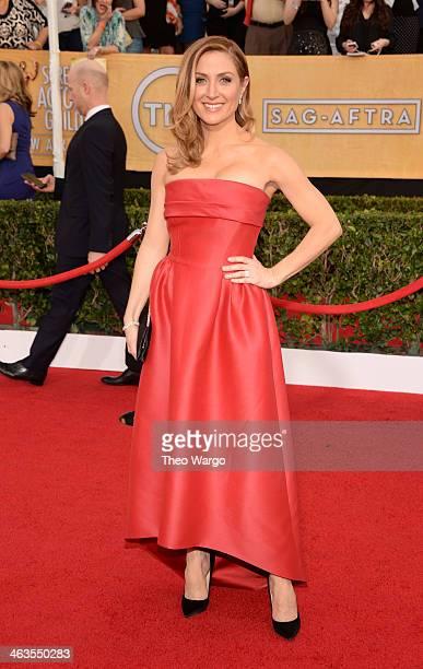 Actress/Social Media Ambassador Sasha Alexander attends 20th Annual Screen Actors Guild Awards at The Shrine Auditorium on January 18 2014 in Los...