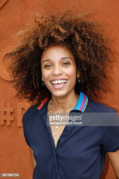 ActressStefi Celma attends the 2017 French Tennis Open Day Six at Roland Garros at Roland Garros on June 2 2017 in Paris France