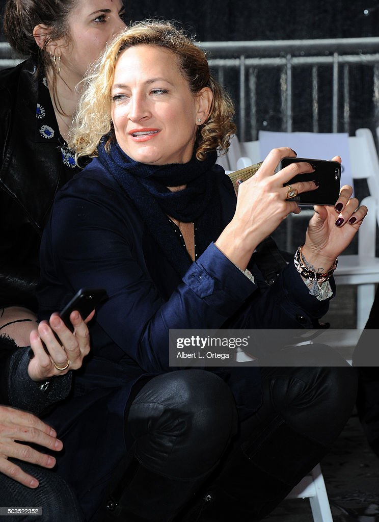 Actress/stunt woman Zoe Bell at Quentin Tarantino's Hands and Footprints Ceremony held at TCL Chinese Theatre on January 5, 2016 in Hollywood, California.