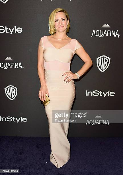Actress/stunt woman Zoe Bell attends InStyle and Warner Bros 73rd Annual Golden Globe Awards PostParty at The Beverly Hilton Hotel on January 10 2016...