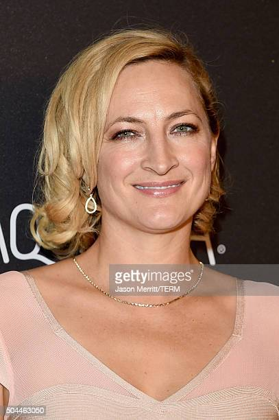 Actress/stuntwoman Zoe Bell attends The 2016 InStyle And Warner Bros 73rd Annual Golden Globe Awards PostParty at The Beverly Hilton Hotel on January...