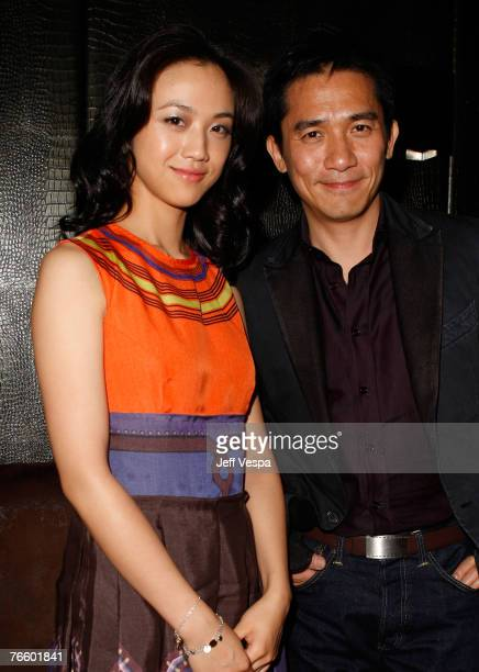 ActressTang Wei and Tony Leung at the 32nd Annual Toronto International Film Festival Eastern Promises party at Cheval on September 8 2006 in Toronto...