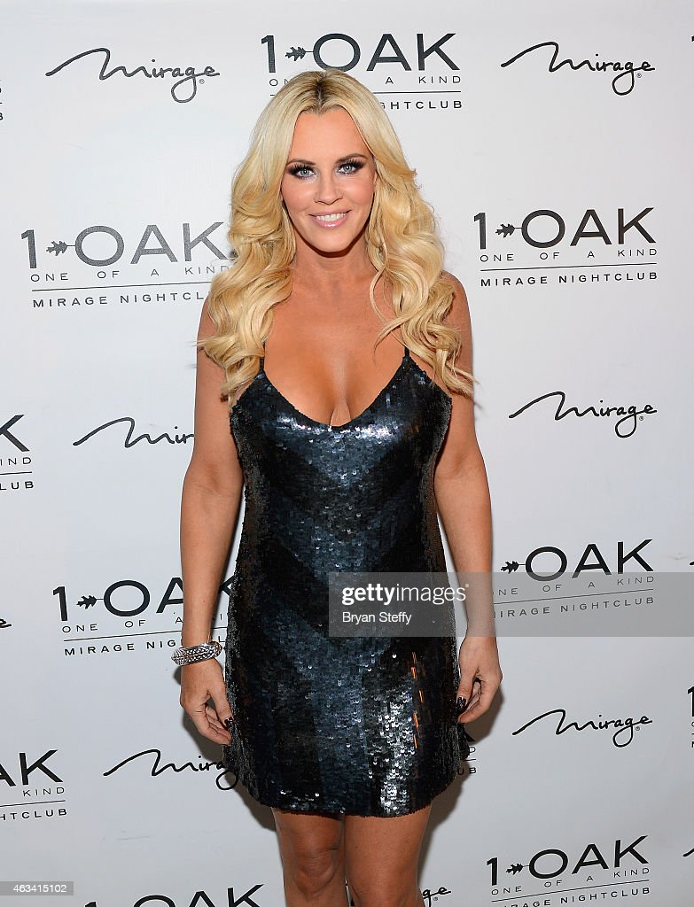 Jenny McCarthy At 1 OAK Nightclub At The Mirage Las Vegas