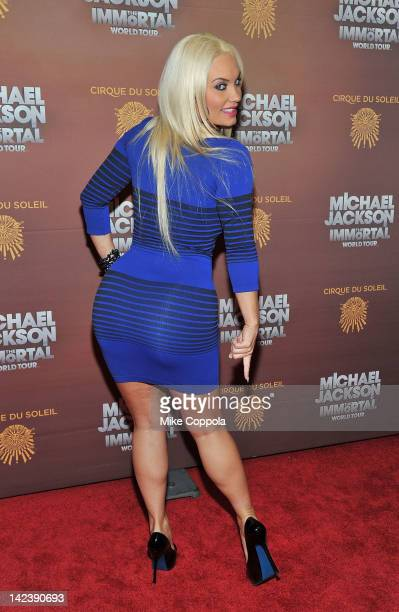 Actress/television personality Coco Austin attends Michael Jackson THE IMMORTAL World Tour show by Cirque du Soleil at Madison Square Garden on April...