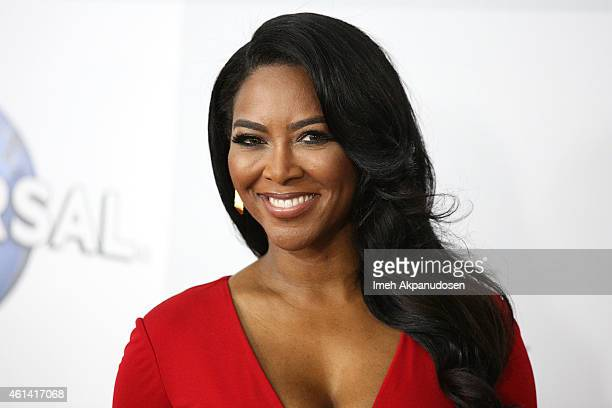 Actress/television personality Kenya Moore attends NBCUniversal's 72nd Annual Golden Globes After Party at The Beverly Hilton Hotel on January 11...