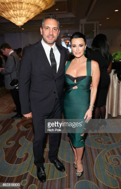 Actress/television personality Kyle Richards and Real Estate Agent/television personality Mauricio Umansky attend the Family Equality Council's...