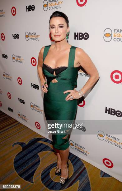 Actress/television personality Kyle Richards attends the Family Equality Council's Impact Awards at the Beverly Wilshire Hotel on March 11 2017 in...