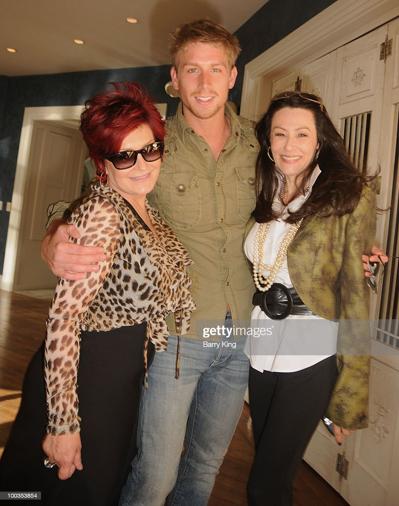 Actress/television personality Sharon Osbourne, actor Ryan McIntyre and guest attend Equality California's Harvey Milk Day Celebration At The Osbourne Estate Hill House on May 22, 2010 in Hidden Hills, California.