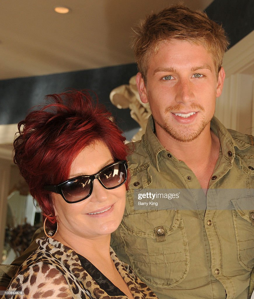 Actress/television personality Sharon Osbourne and actor Ryan McIntyre attend Equality California's Harvey Milk Day Celebration At The Osbourne Estate Hill House on May 22, 2010 in Hidden Hills, California.