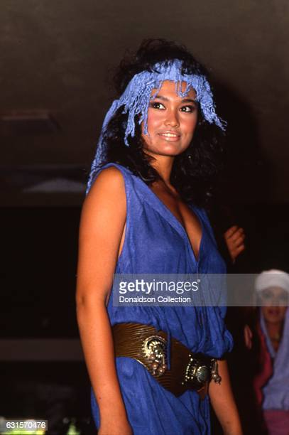ActressTia Carrere attends an event in 1985 in Los Angeles California