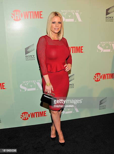 Actress/TV personality Carrie Keagan attends The Masters Of Sex New York Series Premiere at The Morgan Library Museum on September 26 2013 in New...