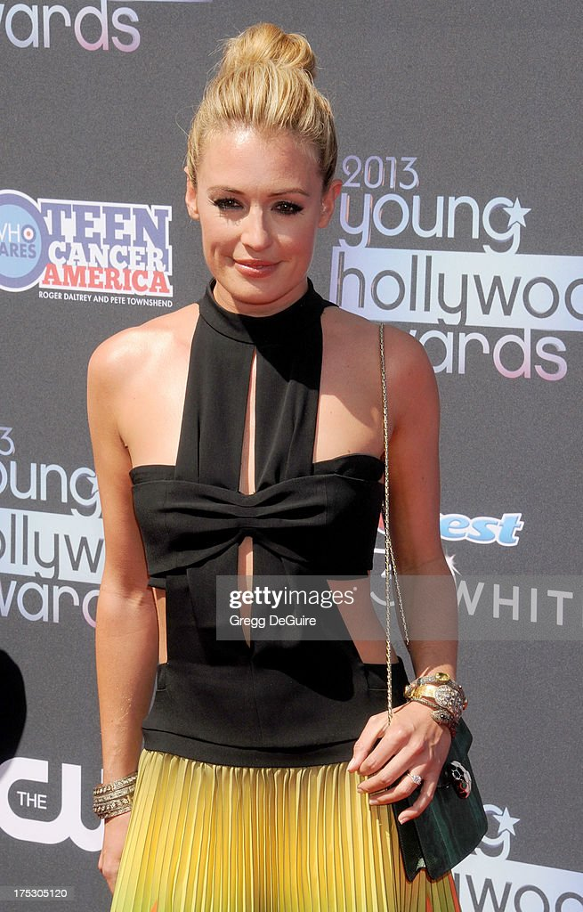 Actress/TV personality Cat Deeley arrives at the 15th Annual Young Hollywood Awards at The Broad Stage on August 1, 2013 in Santa Monica, California.