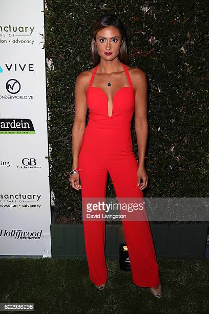 Actress/TV personality Katie Cleary attends the Farm Sanctuary's 30th Anniversary Gala at the Beverly Wilshire Four Seasons Hotel on November 12 2016...