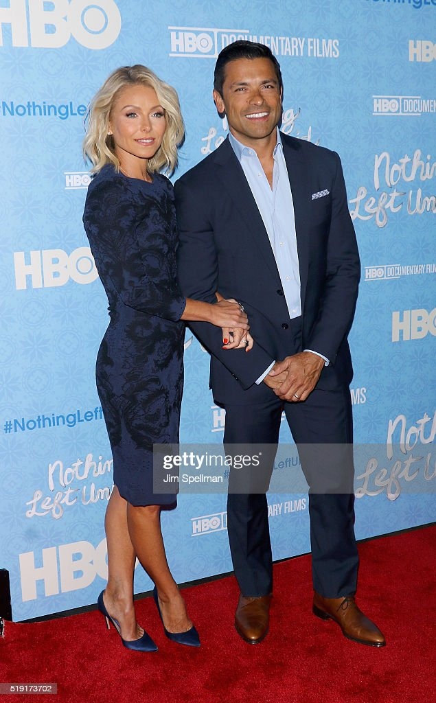 """Nothing Left Unsaid"" New York Premiere : ニュース写真"