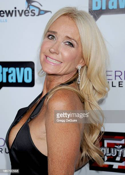 Actress/TV personality Kim Richards arrives at 'The Real Housewives Of Beverly Hills' And 'Vanderpump Rules' premiere party at Boulevard3 on October...