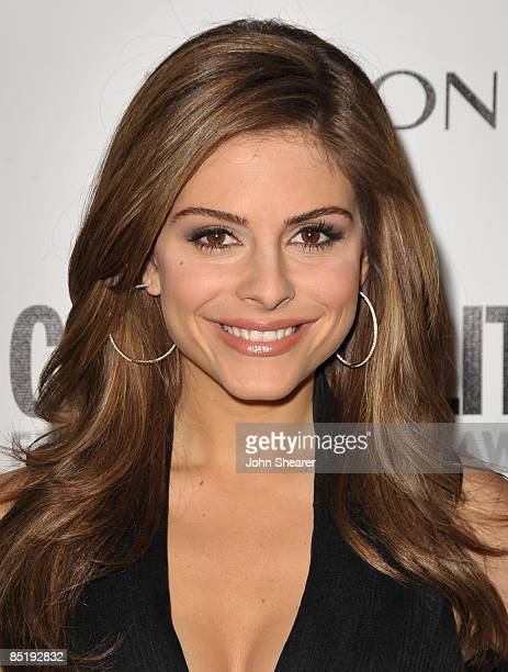 Actress/TV personality Maria Menounos arrives to Cosmopolitan's 2009 Fun Fearless Awards at SLS Hotel on March 2, 2009 in Beverly Hills, California.