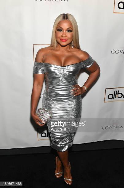 "Actress/tv personality Phaedra Parks attends ""Covenant"" Atlanta screening at Silverspot Cinema on October 14, 2021 in Atlanta, Georgia."