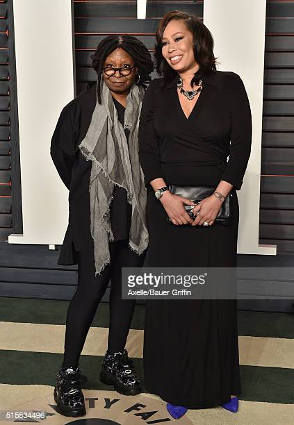 Actress/TV personality Whoopi Goldberg and dauhter Alex Martin arrive at the 2016 Vanity Fair Oscar Party Hosted By Graydon Carter at Wallis...