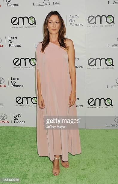 Actress/writer Anna Getty arrives at the 2013 Environmental Media Awards at Warner Bros Studios on October 19 2013 in Burbank California