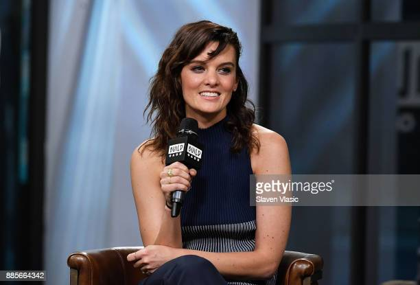Actress/writer Frankie Shaw visits Build to discuss 'SMILF' at Build Studio on December 4 2017 in New York City