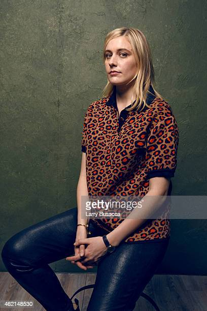 Actress/writer Greta Gerwig from 'Mistress America' poses for a portrait at the Village at the Lift Presented by McDonald's McCafe during the 2015...
