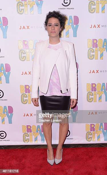 Actress/writer Ilana Glazer attends The Broad City Season 2 Premiere Party at 26 Bridge Street on January 7 2015 in New York City