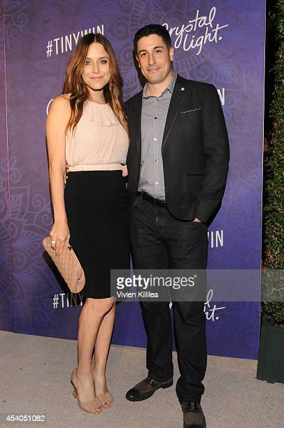 Actress/writer Jenny Mollen and actor Jason Biggs attend Variety and Women in Film Emmy Nominee Celebration powered by Samsung Galaxy on August 23...