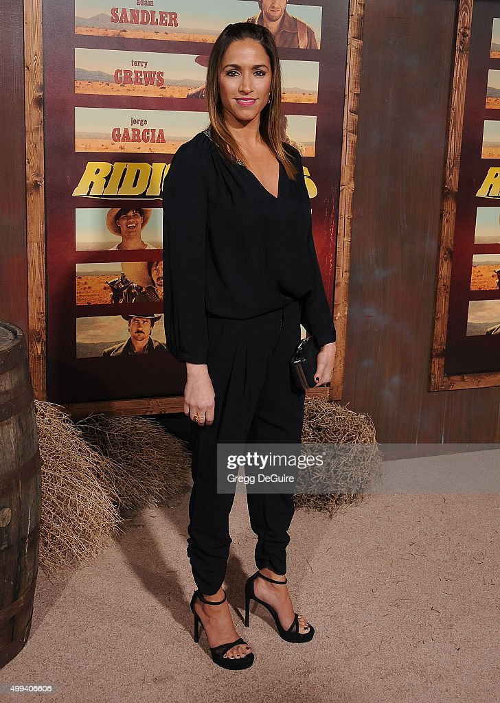 Actress/writer Julia Wolov arrives at the premiere of Netflix's 'The Ridiculous 6' at AMC Universal City Walk on November 30, 2015 in Universal City, California.