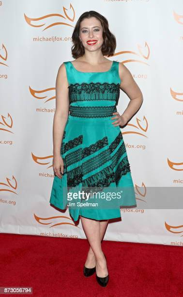 Actress/writer Lauren Miller attends the 2017 A Funny Thing Happened on the Way to Cure Parkinson's event at the Hilton New York on November 11 2017...