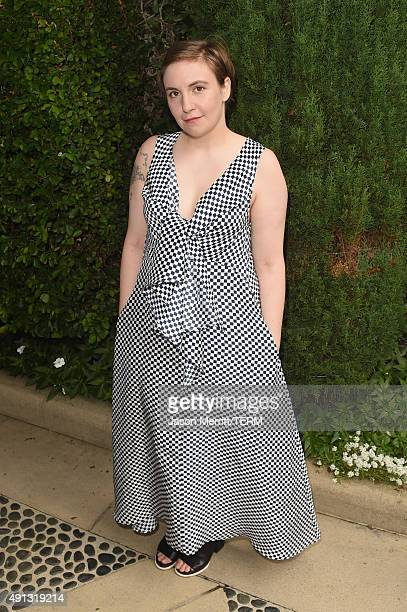 Actress/writer Lena Dunham attends The Rape Foundation's annual brunch at Greenacres The Private Estate of Ron Burkle on October 4 2015 in Beverly...