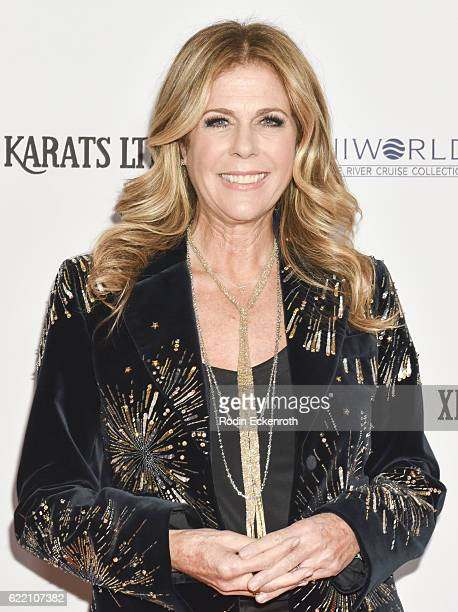 Actress/writer Rita Wilson attends 2016 Women's Guild CedarsSinai Annual Gala at The Beverly Hilton Hotel on November 9 2016 in Beverly Hills...