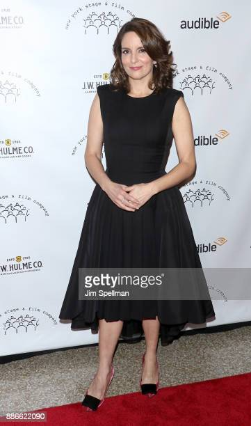 Actress/writer Tina Fey attends the 2017 New York Stage and Film Winter Gala at Pier Sixty at Chelsea Piers on December 5 2017 in New York City
