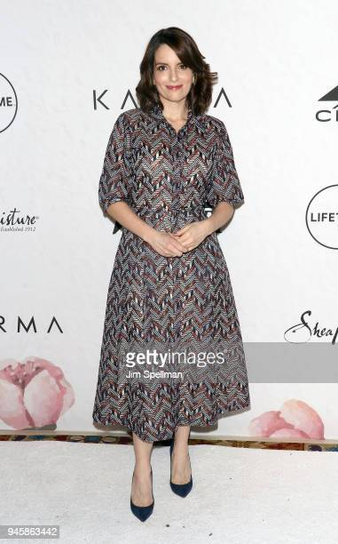 Actress/writer Tina Fey attends the 2018 Variety's Power of Women New York at Cipriani Wall Street on April 13 2018 in New York City