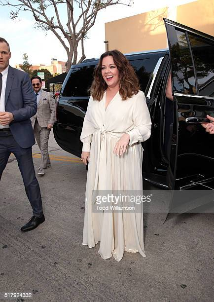 """Actress/writer/executive producer Melissa McCarthy attends the premiere of USA Pictures' """"The Boss"""" at Regency Village Theatre on March 28, 2016 in..."""